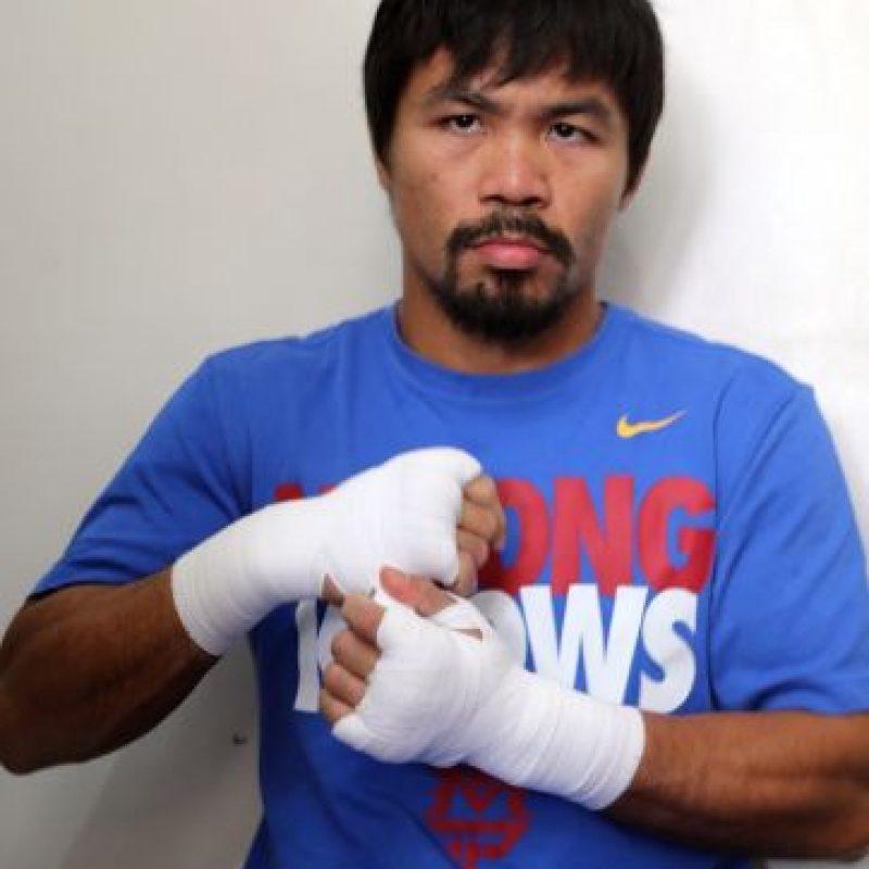 El segundo puesto es para el boxeador filipino, Manny Pacquiao, que acumuló una millonaria suma de 160 millones de dólares. Foto:Getty Images