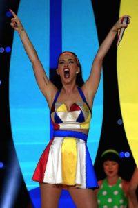 """Con 135 millones de dólares por su actual gira mundial """"Prismatic World Tour"""", Katy Perry se posicionó el tercer lugar de la lista. Foto:Getty Images"""