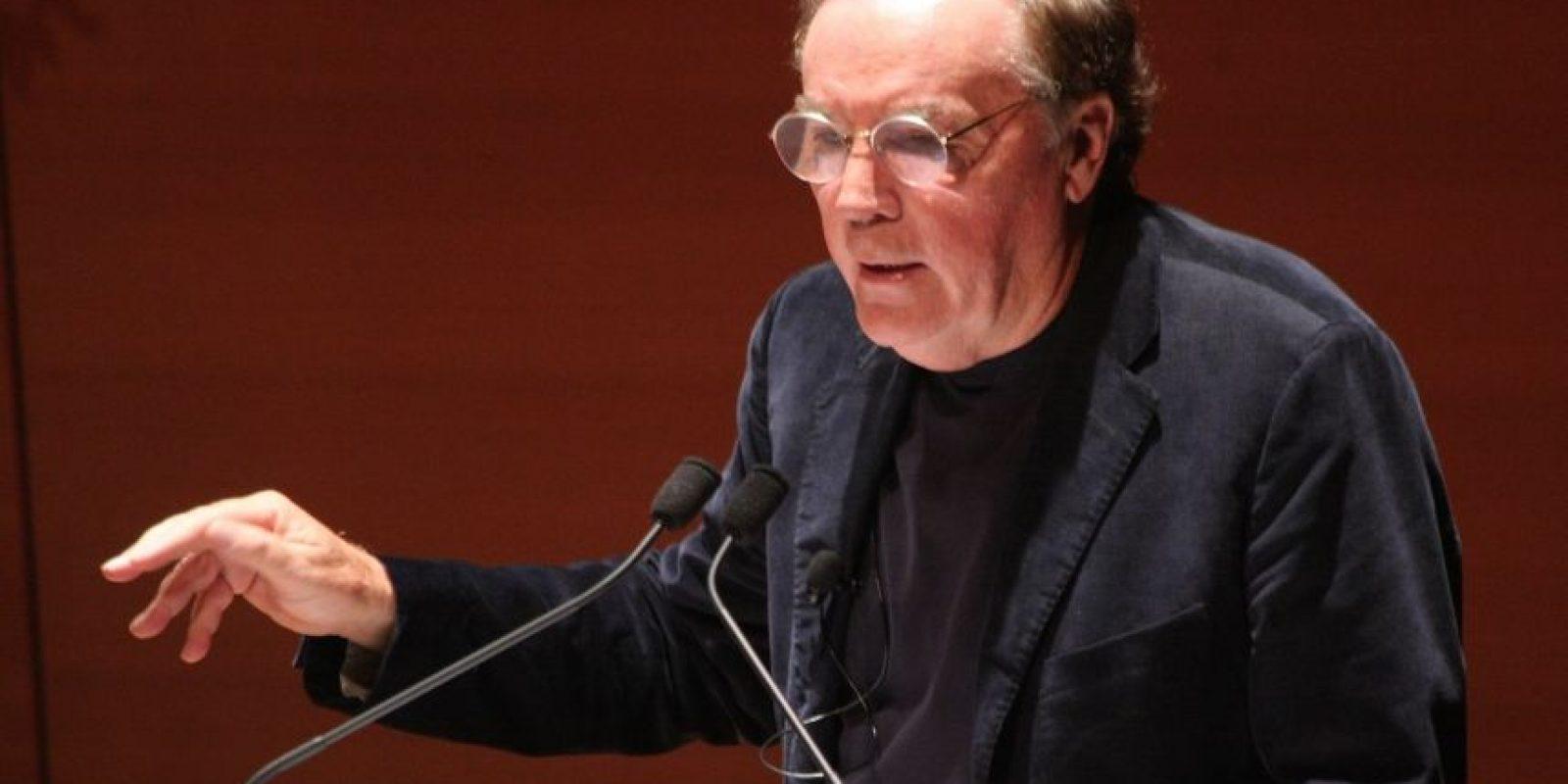 """El escritor estadounidense y autor del libro """"En la mente del asesino"""", James Patterson, ganó el séptimo puesto con 89 millones de dólares. Foto:Getty Images"""