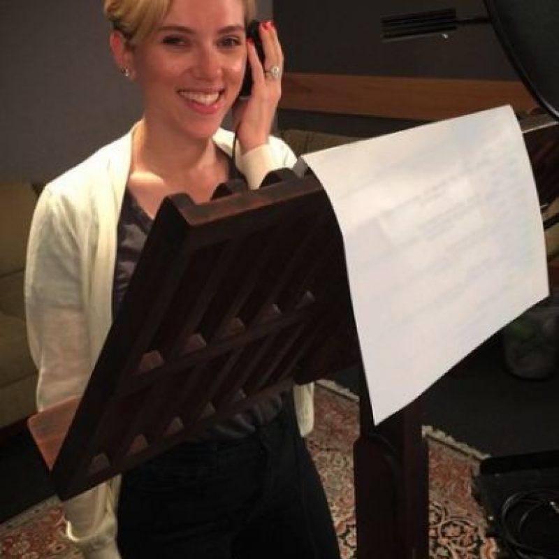 """Scarlett Johansson será """"Kaa"""". Foto:vía instagram.com/jonfavreau"""