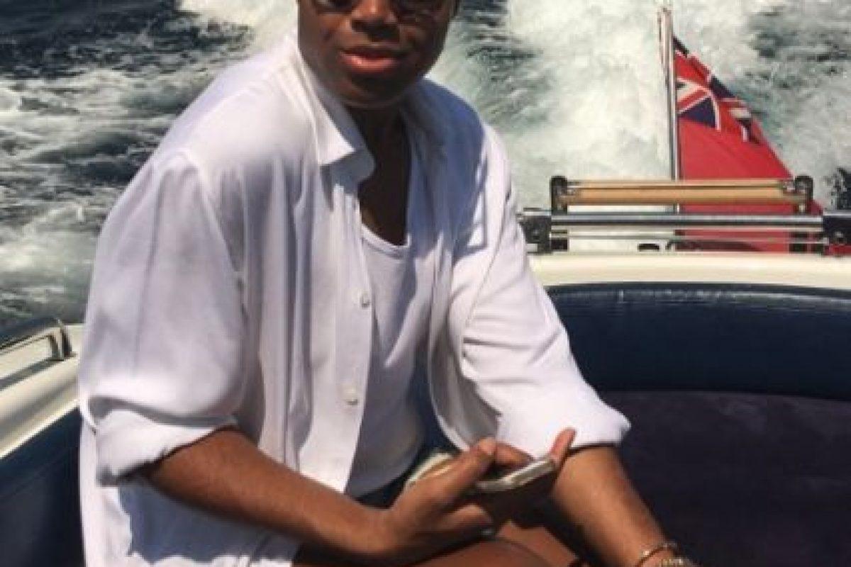 """""""Le dijimos que estábamos ahí para apoyarle y que le querríamos sin importar nada"""", explicó """"Magic"""" Johnson al sitio TMZ.com Foto:vía instagram.com/ejjohnson_"""
