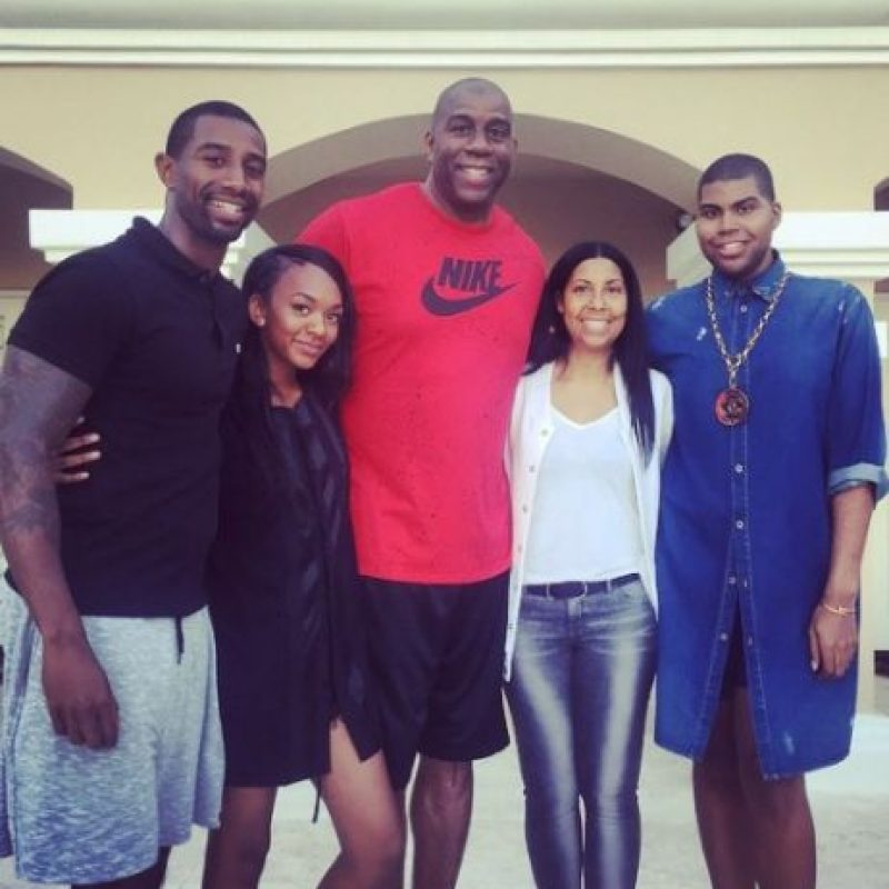 "EJ Johnson es el hijo del famoso ""Magic"" Johnson Foto: vía instagram.com/ejjohnson_"