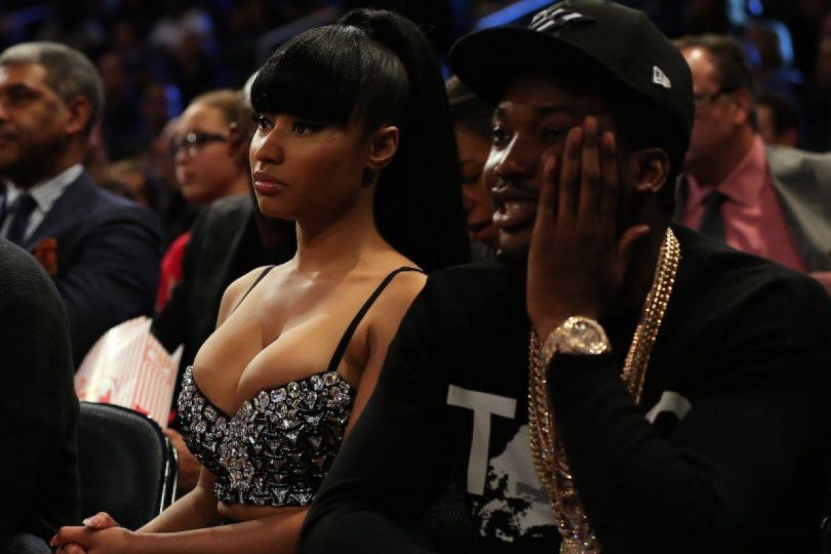 A pesar de que constantemente negaban su relación, Meek admitió que estaba enamorado de Nicki. Foto:vía instagram.com/nickiminaj