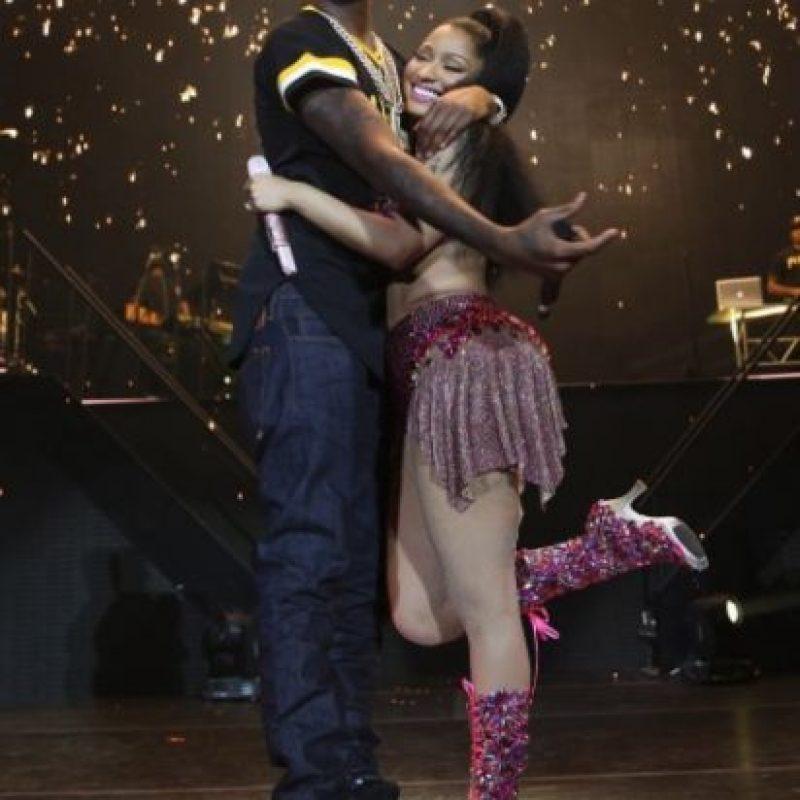 """Ahora la pareja comparte escenario en la gira """"The Pinkprint Tour"""", que recorre las principales ciudades de Estados Unidos. Foto:vía instagram.com/nickiminaj"""