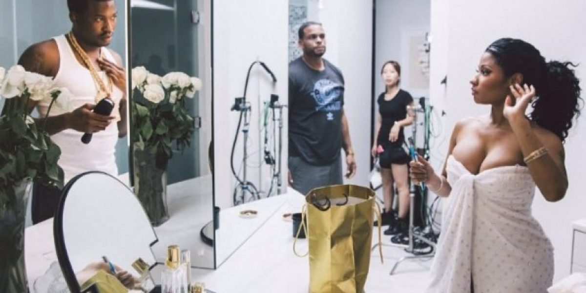 "Nicki Minaj y su novio posaron en provocativa sesión para la revista ""GQ"""