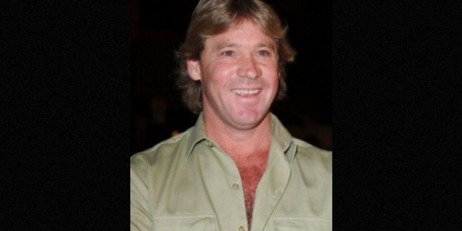 Steve Irwin, como todo el mundo sabe, murió por un coletazo de una raya en su corazón Foto:Getty Images