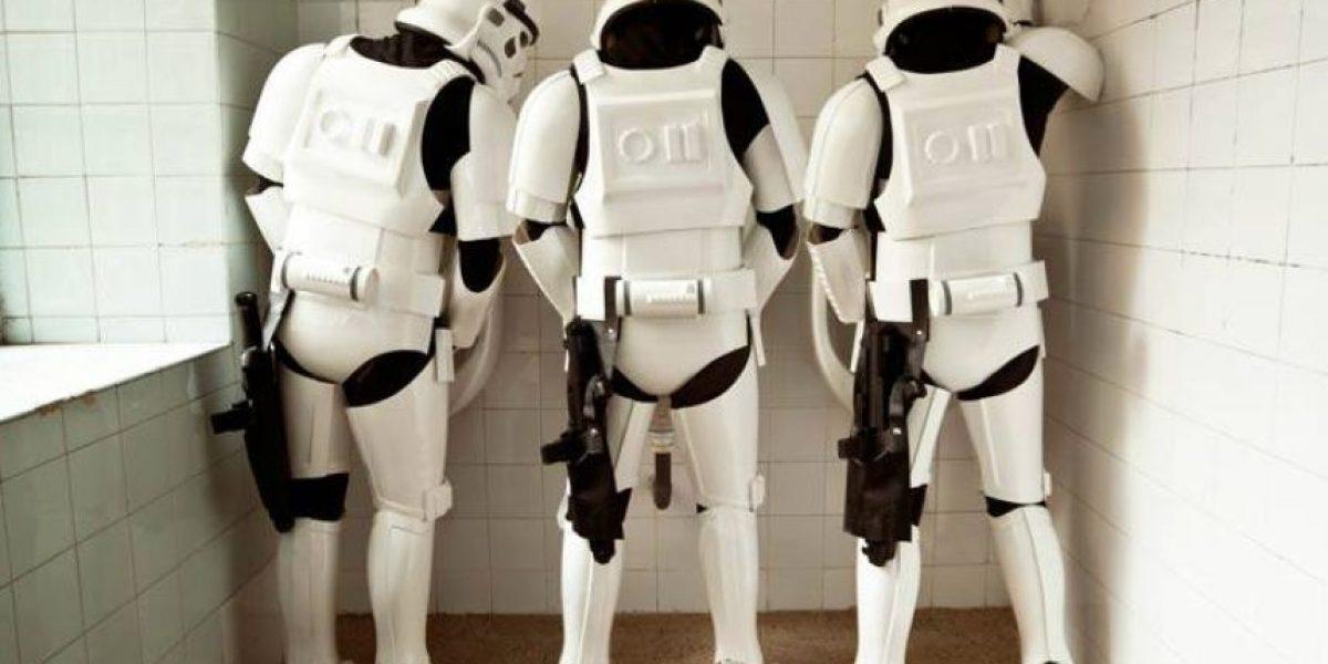 Fotos. ¿Qué haría un Stormtrooper de Star Wars en un día cotidiano?