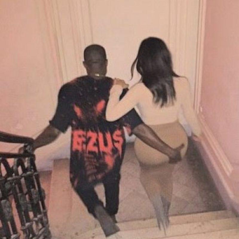 """""""He estado practicando sexo 500 veces al día"""", confesó en una emisión del reality show, """"Keeping Up with the Kardashian"""". Foto:vía instagram.com/kimkardashian"""