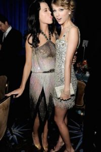 Otra de las cantantes nominadas este año en los Emmys es: Katy Perry. Foto:Getty Images