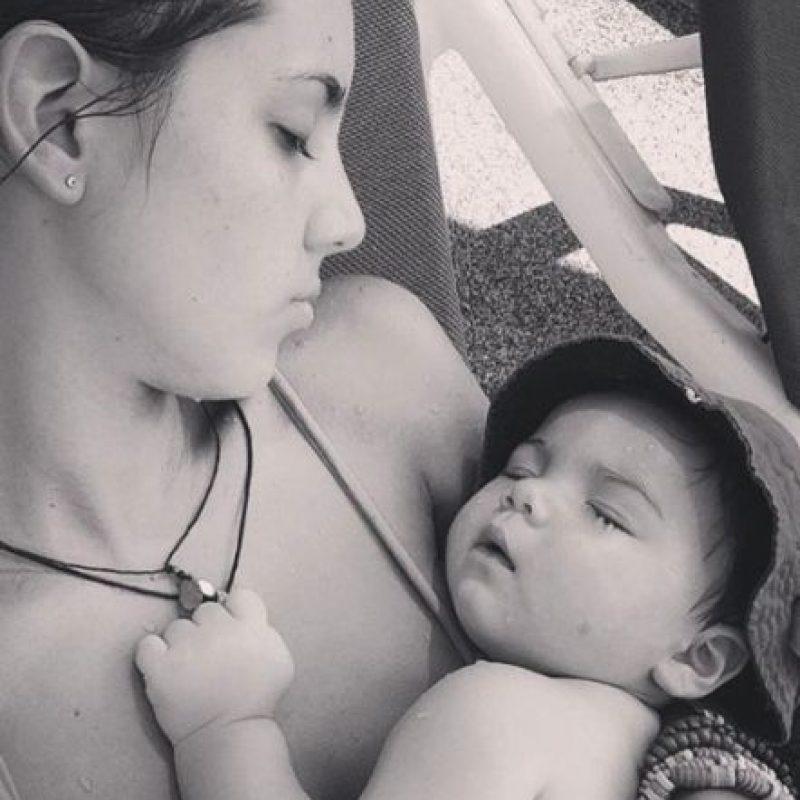 Ahora es madre de un pequeño de un año. Foto:vía instagram.com/vanesagleiro