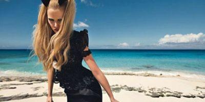 A partir de 2010, firmó un contrato de exclusividad con Calvin Klein Inc. Foto:vía instagram.com/lara_stone