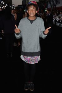 Jaden Smith, hijo del actor Wil Smith. Foto:Getty Images