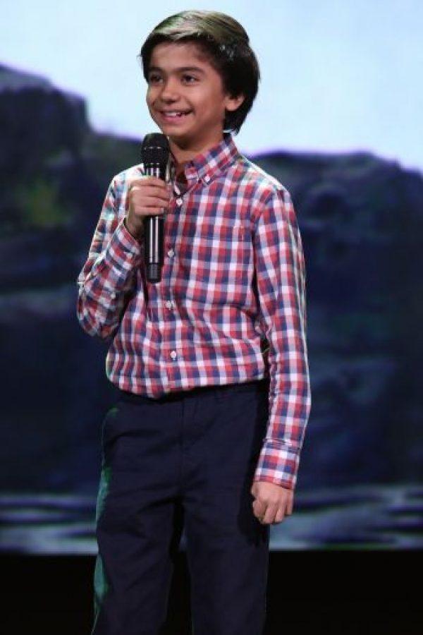 Neel Sethi tiene 10 años. Foto:Getty Images