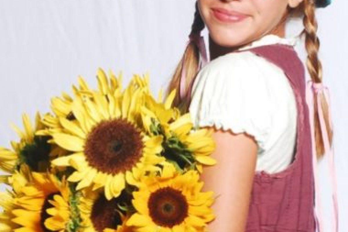 """Este era el look de la actriz argentina en la telenovela """"Patito Feo"""" Foto:vía instagram.com/laura_esquivel"""