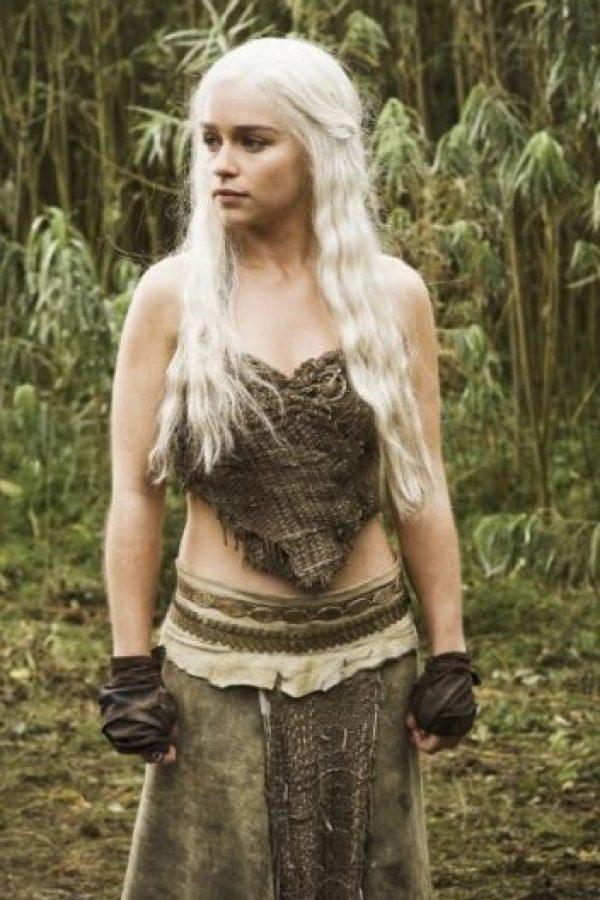 """Para su personaje en """"Games of Thrones"""" utiliza una peluca rubia Foto:IMDB"""