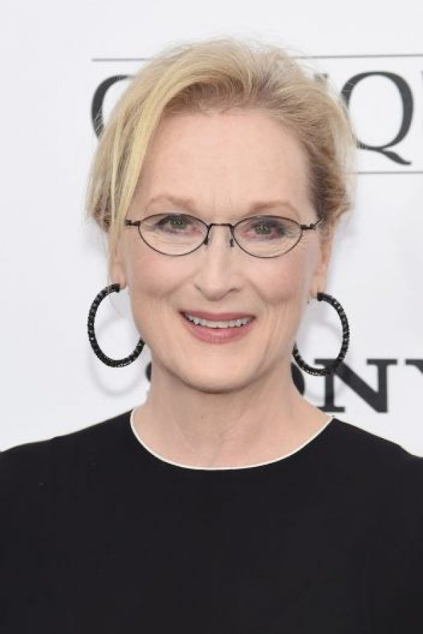 Y se lo otorgó a la actriz Meryl Streep. Foto:Getty Images
