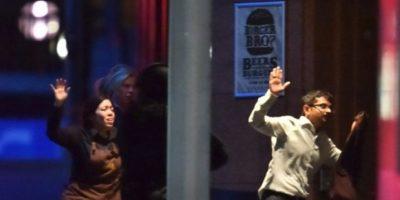 1. Ataque a una cafetería en Sidney, Australia Foto:AFP