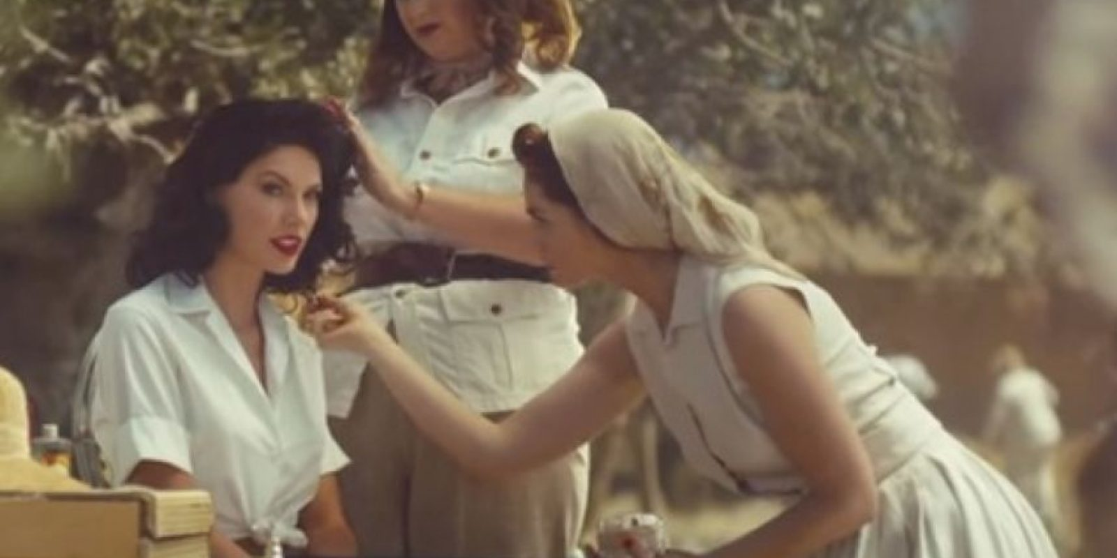 "Taylor Swift estrenó su video ""Wildest Dreams"" durante la premiación de los MTV Video Music Awards y desde entonces le han llovido fuertes críticas. Foto: vía YouTube/TaylorSwift"