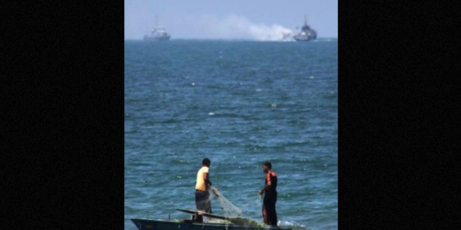En julio pasado, militantes de ISIS atacaron un barco patrulla naval. Foto:AFP