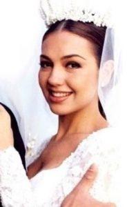 """Luego de su transformación, """"María"""" se veía así. Foto:vía instagram.com/thalia"""