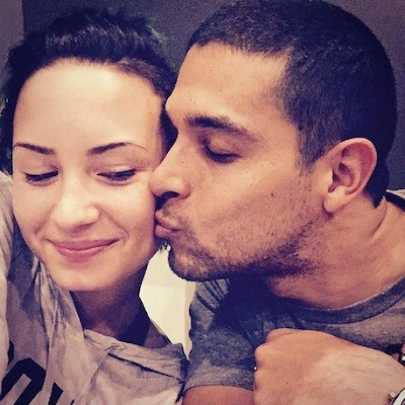 La pareja inició su relación en 2010, luego de que ella terminara un romance con Joe Jonas y él fuera relacionado con Lindsay Lohan. Foto:Instagram/wilmervalderrama