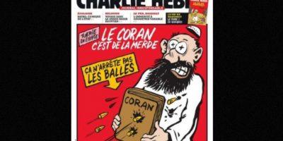 Todas las religiones son criticadas en Charlie Hebdo Foto:Vía: www.facebook.com/CharlieHebdoOfficiel