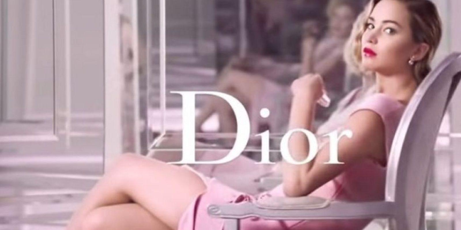 15. Ha sido la imagen de Dior desde 2013 Foto:Dior