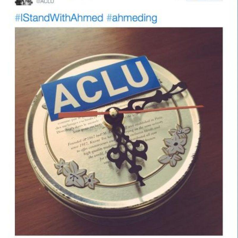 Esto lo publicó la Unión de Libertades Civiles de Estados Unidos. Foto:Twitter.com