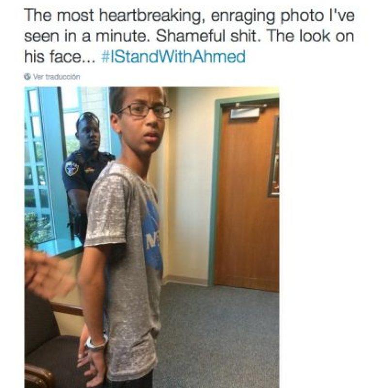 """""""La imagen más abrumadora que he visto en un minuto"""" Foto:Twitter.com"""