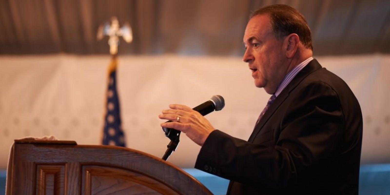Mike Huckabee, exgobernador de Arkansas Foto: Getty Images