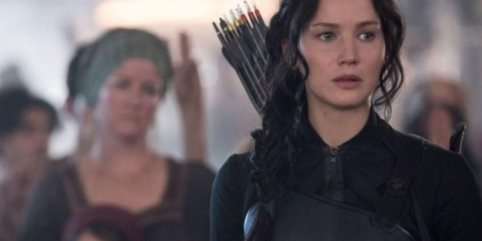 """""""Katniss"""" está decidida a terminar con el """"presidente Snow"""". Foto:IMDb"""