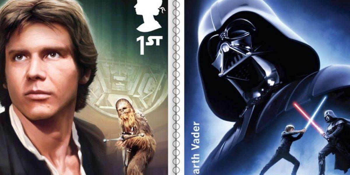 IMÁGENES. Nuevos sellos postales inspirados en Star Wars