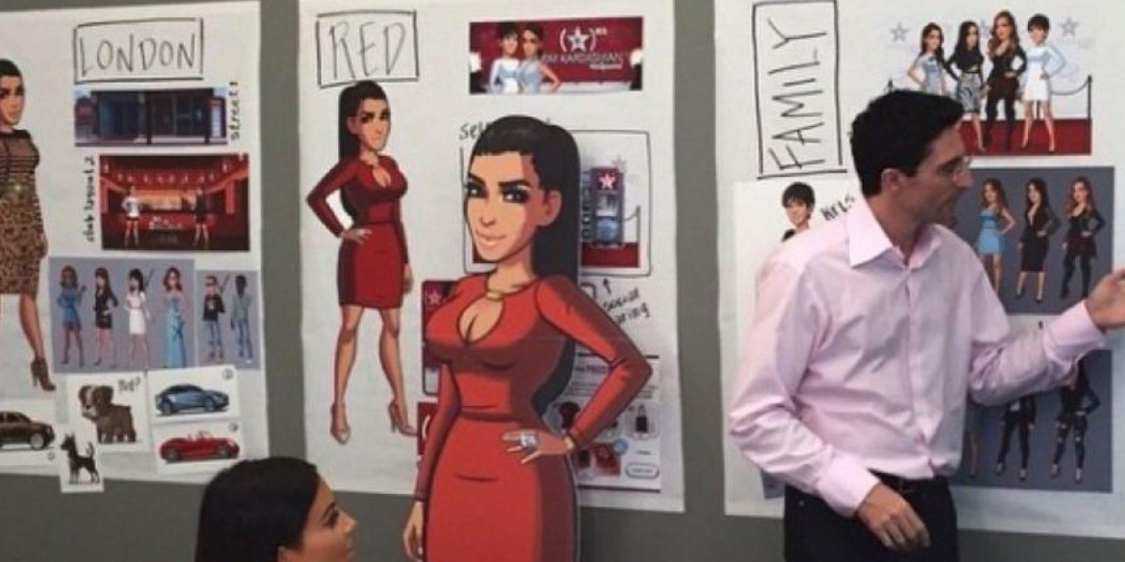 Y tiene su propio videojuego. Foto:vía instagram.com/kimkardashian