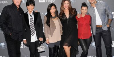 "Los protagonistas del reality show ""Keeping Up with the Kardashians"". Foto:  Getty Images"
