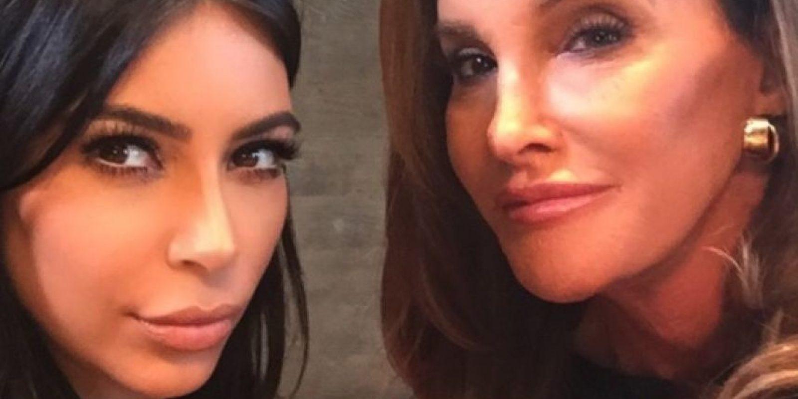 Kim Kardashian y Caitlyn Jenner. Foto:vía instagram.com/kimkardashian