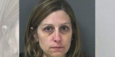 Michelle Ladd, de 41 años. Le regaló autos, armas y alcohol a sus alumnos Foto: Miami County Sheriff's Office