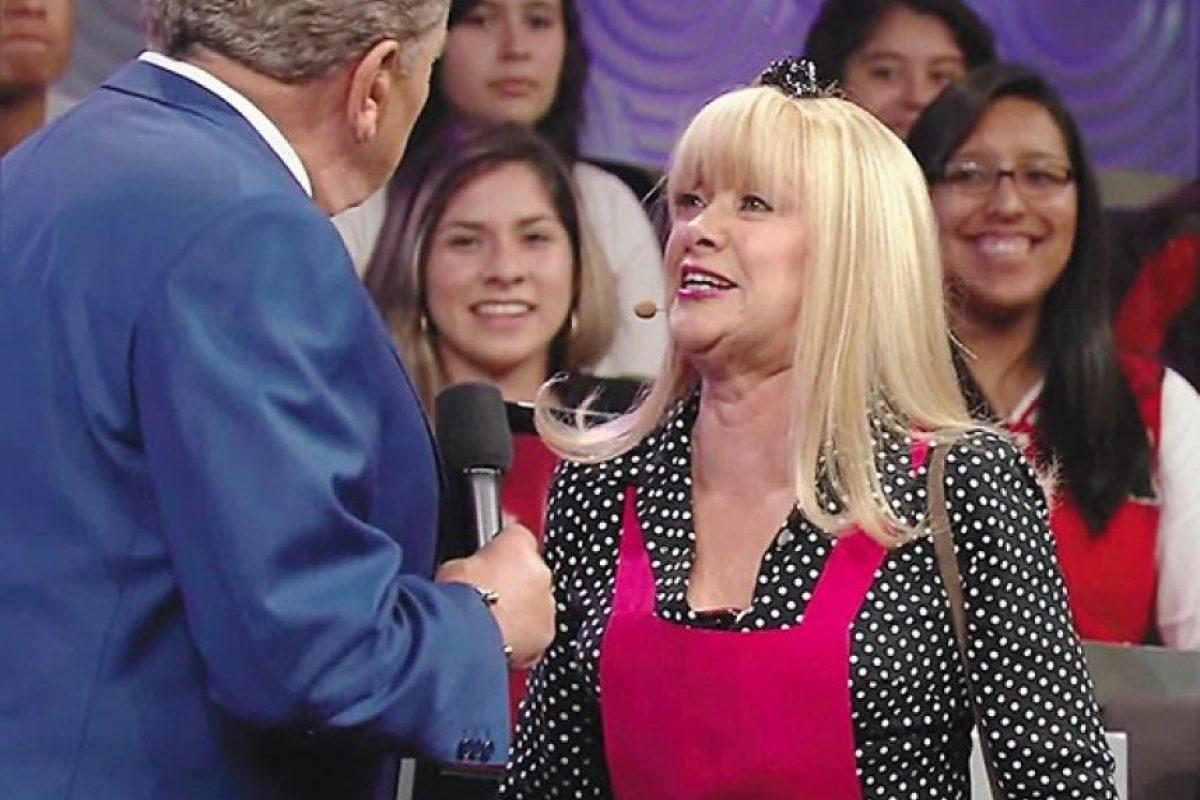 """4. Gloria Benavides interpretará por última vez a """"La cuatro"""" Foto:Facebook/SábadoGigante"""