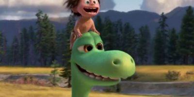 Aquí los dinosaurios no murieron y viven civilizadamente con los humanos (sus mascotas). Foto: Disney/Pixar