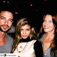 Ali Larter, actriz que ha participado en otras películas de esta franquicia, fue la encargada de dar la bienvenida pública al guapo actor Foto:Instagram/willevy
