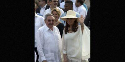 La visita de Cristina Fernández, presidenta de Argentina, a La Habana Foto:AFP