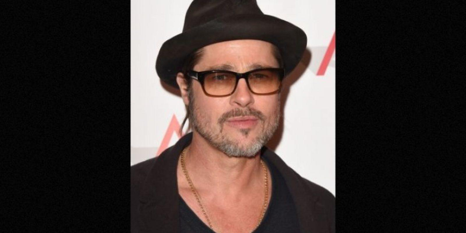 """Brad Pitt contó que le gustaba fumar marihuana cuando comenzó su carrera como actor. """"Después me aburrí y dejé de hacerlo"""" Foto:Getty Images"""