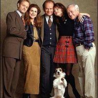 En 1993, el elenco fue encabezado por Kelsey Grammer y David Hyde Pierce. Foto:IMDB