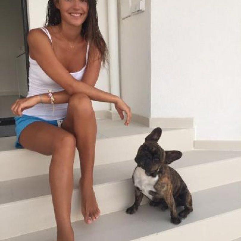 Costa es modelo profesional y es parte de la agencia View Management. Foto:Vía twitter.com/Malenacosta7