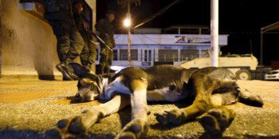 """Esto después de que tres militares venezolanos resultaron heridos en un ataque """"paramilitar"""", según palabras de Maduro Foto:AP"""