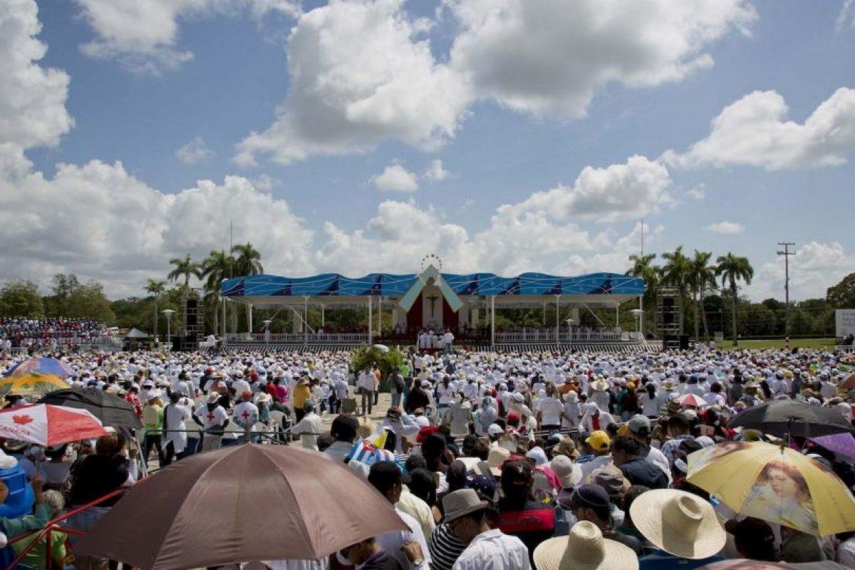 """5. """"No tenemos derecho a permitirnos otro fracaso más en este camino de paz y reconciliación"""", sobre el proceso de diálogo entre el Gobierno de Colombia y las FARC. Foto:AP"""