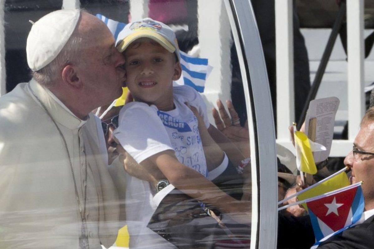 """6. """"Ser cristiano es luchar y servir por sus hermanos"""" Foto:AP"""