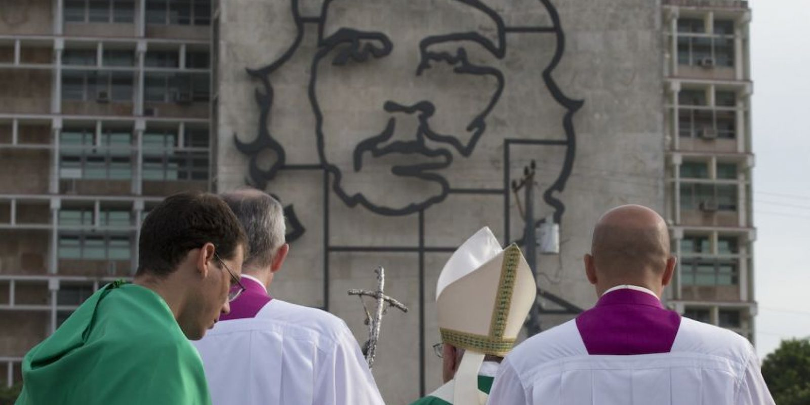 El religioso también verá hoy a sacerdotes, religiosos, entre otros. Foto:AP