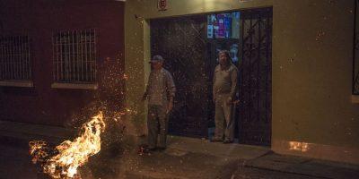 Familias participaron en los barrios capitalinos. Foto:Oliver de Ros