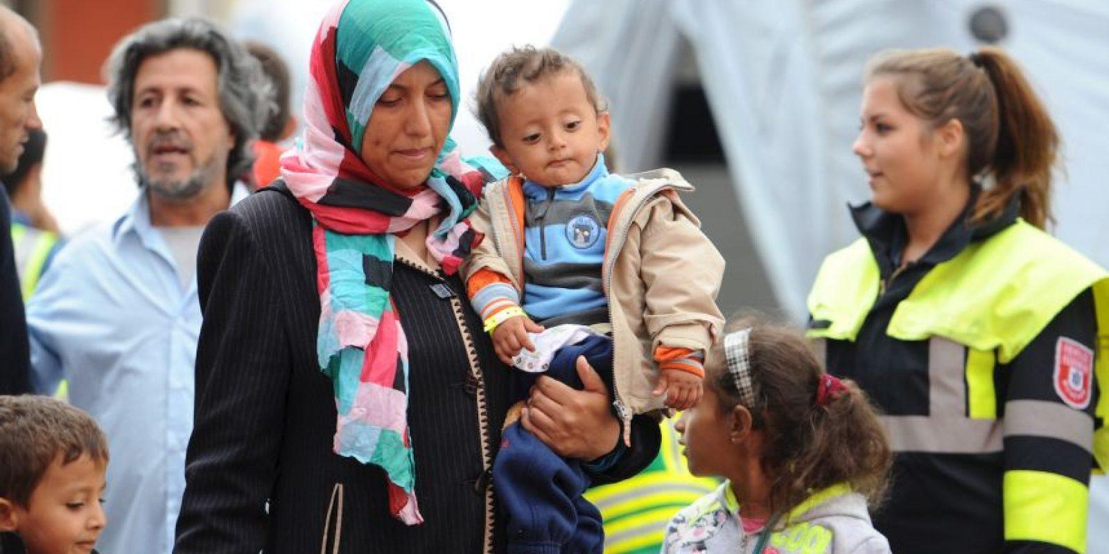 Los refugiados fueron recibidos en Berlín y Munich, ciudades principales de Alemania. Foto:AP