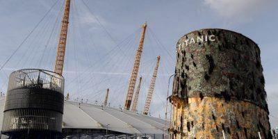 Diversos objetos rescatados del hundimiento son exhibidos alrededor del mundo Foto:Getty Images